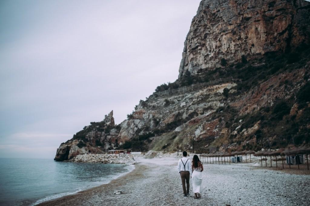 waves in love novia boho Waves in Love (13)