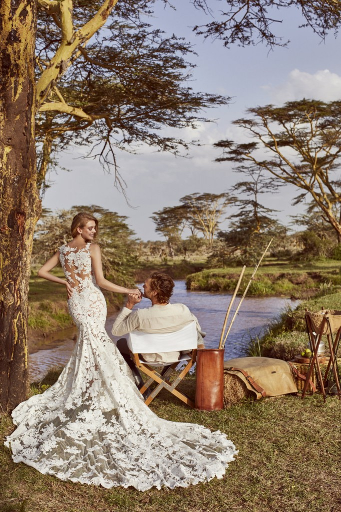 wild love in east africa coleccion 2018 pronovias Wild Love in Esat Africa_PRONOVIAS_RUA