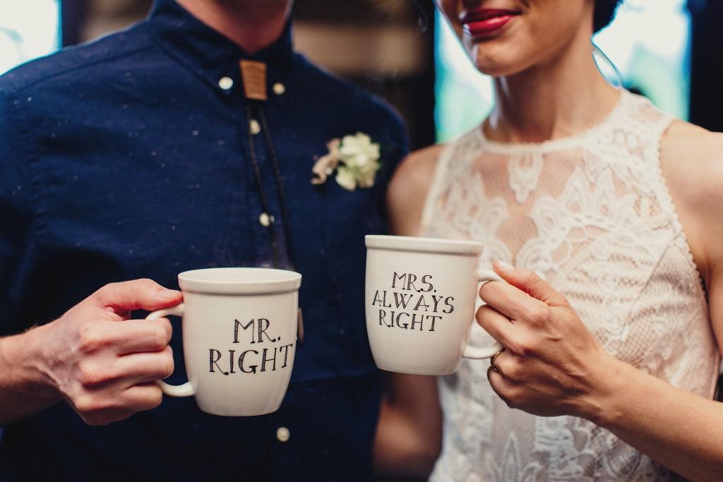 taza personalizada boda