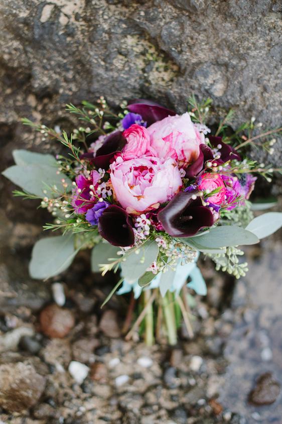 ramo novia ultra violet