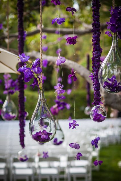 deco wedding ultra violet