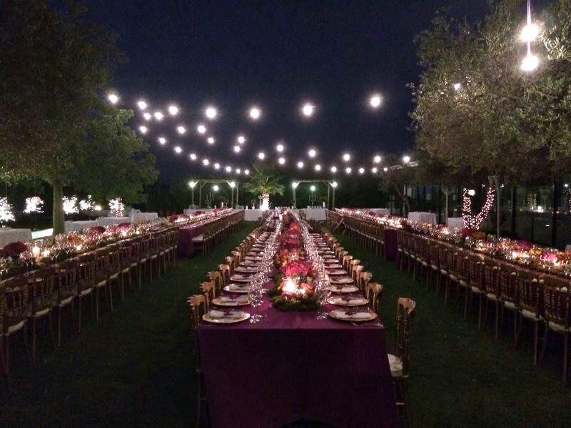 manteles boda ultra violet