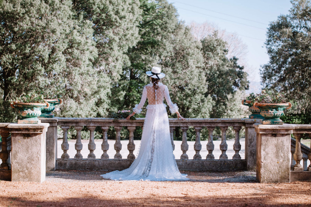 vestido novia estrellas