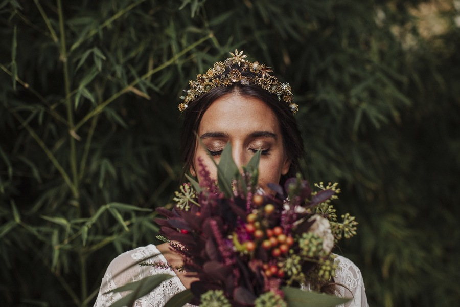 corona para novias 2018