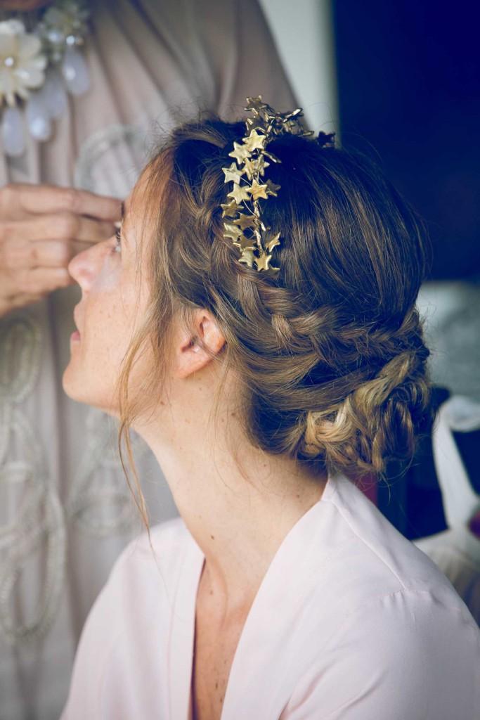 tocado-novia-dorado estrellas