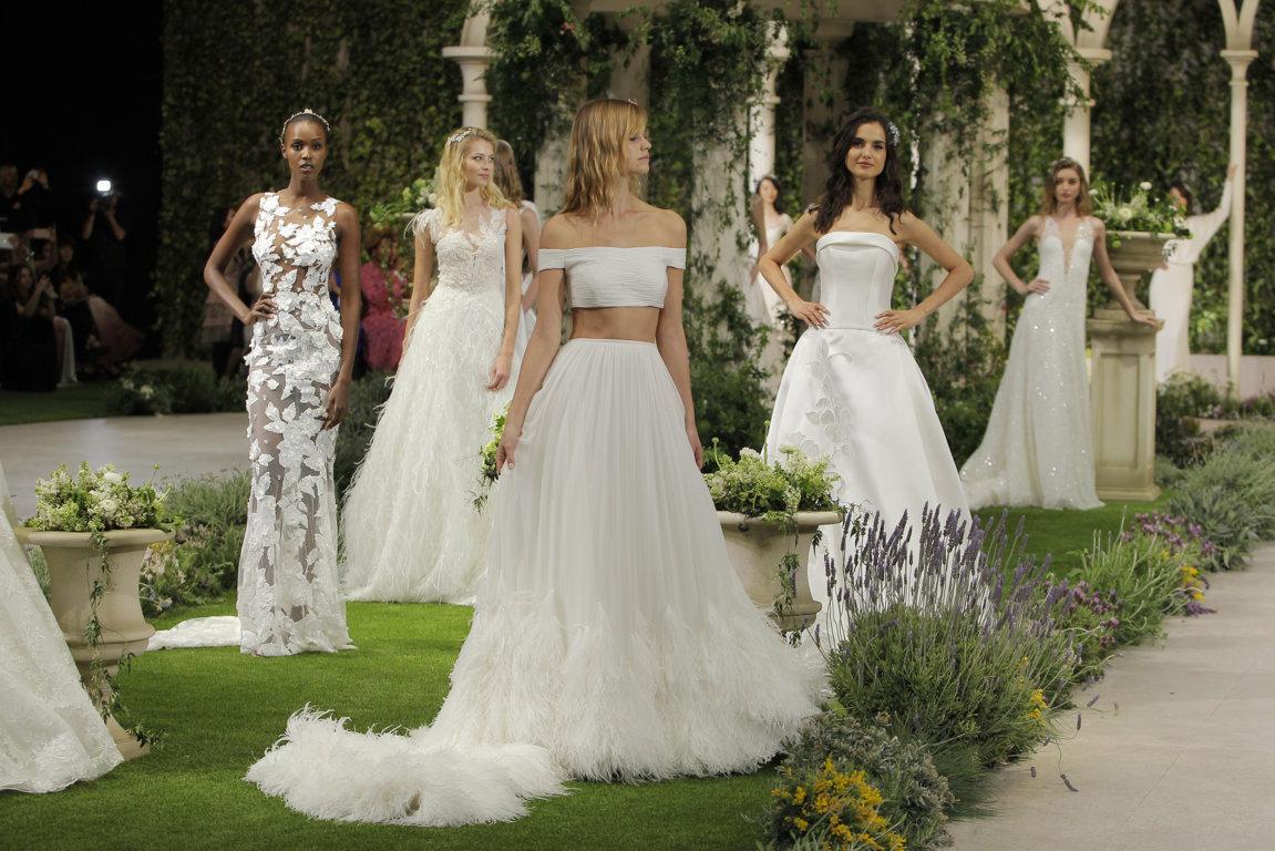 Pronovias 2019 Wedding Dresses: In Bloom, Pronovias Fashion Show 2019