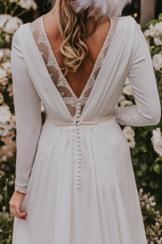 vestidos de novia Lorena Merino Lorena Merino. Foto Alberto Llamazares6