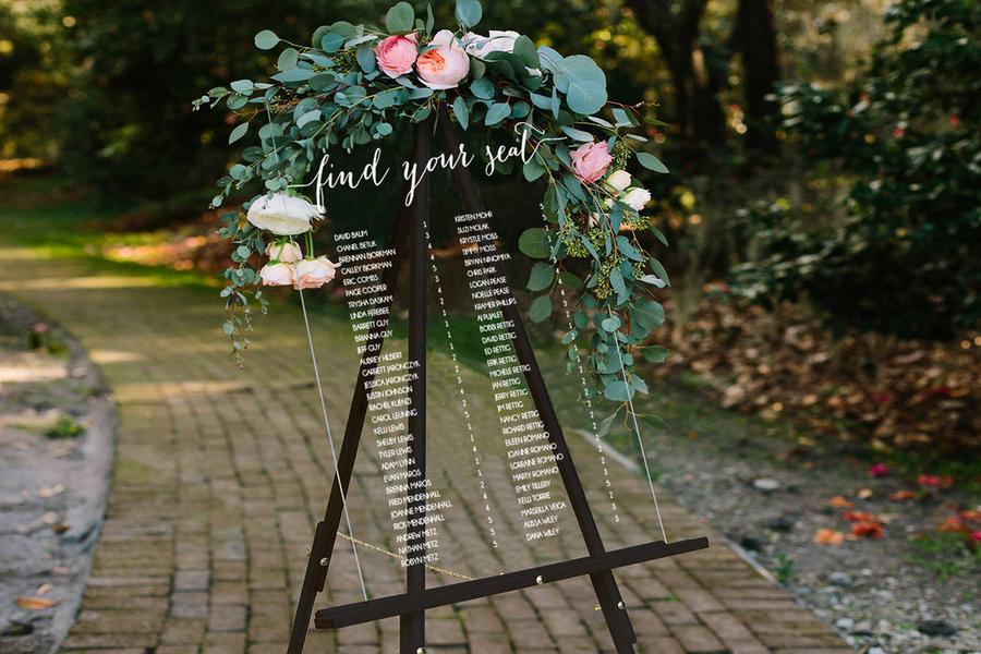 portada seating plan boda