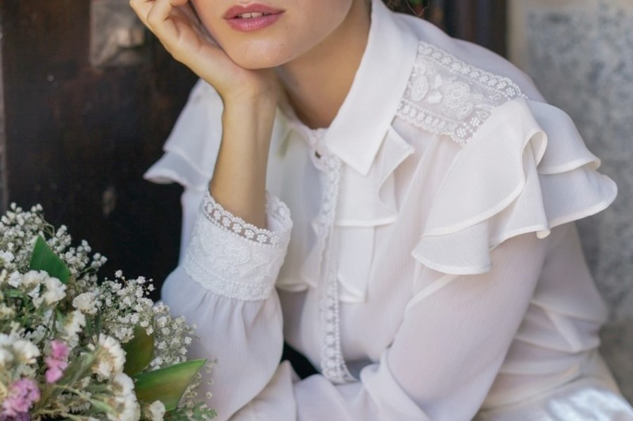 vestidos de novia Maria Baraza 2019