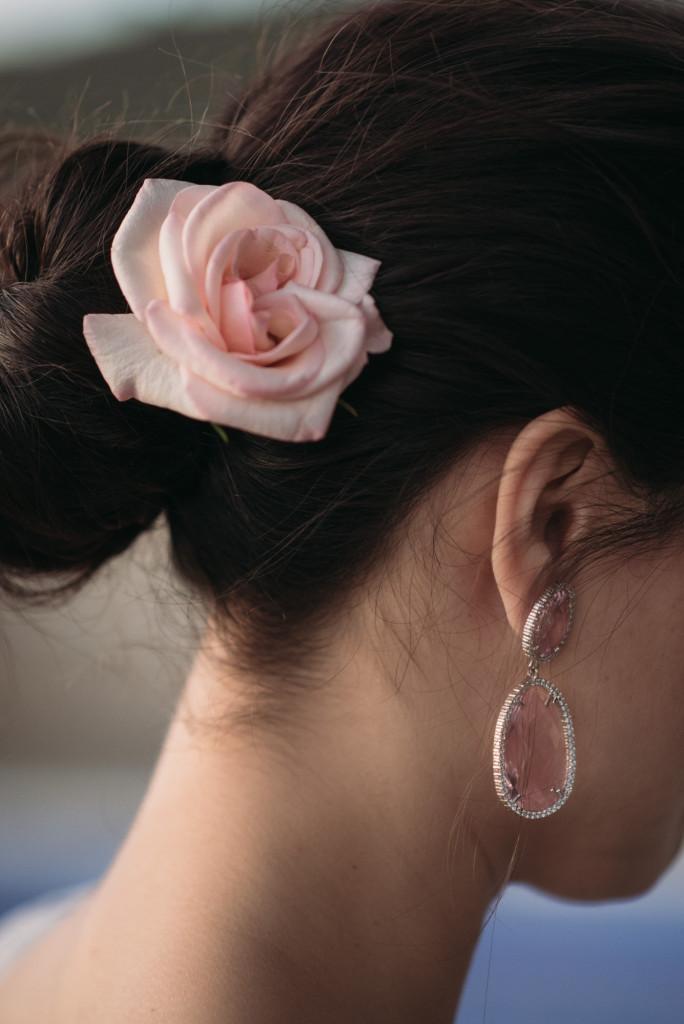 pendientes novia Quiero una boda perfecta