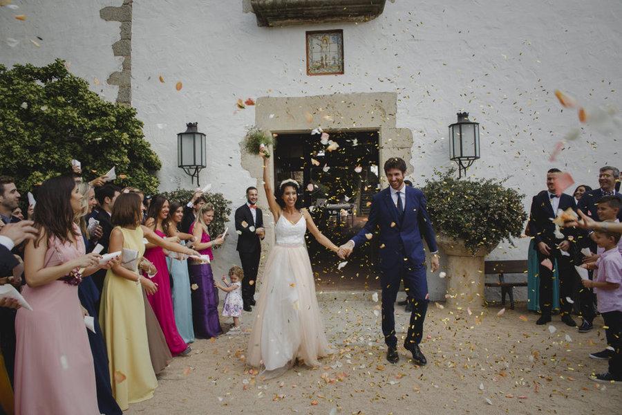 boda en un faro