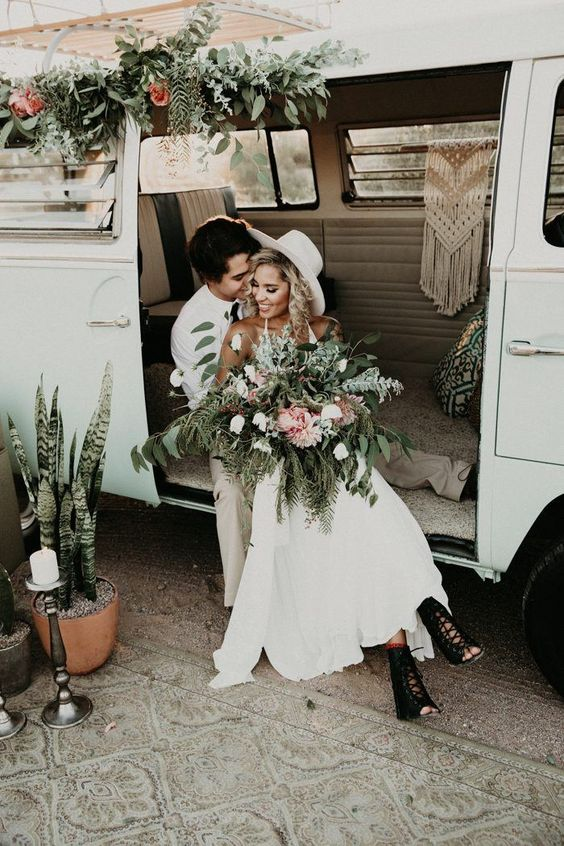 caravana vintage bodas