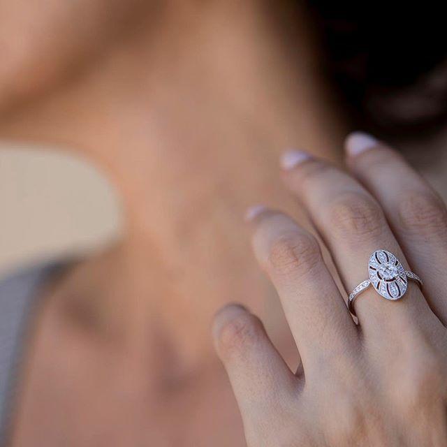 anillo vintage para novia