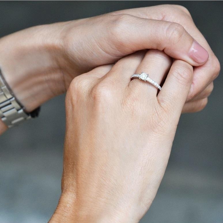 anillo solitario beaprincess