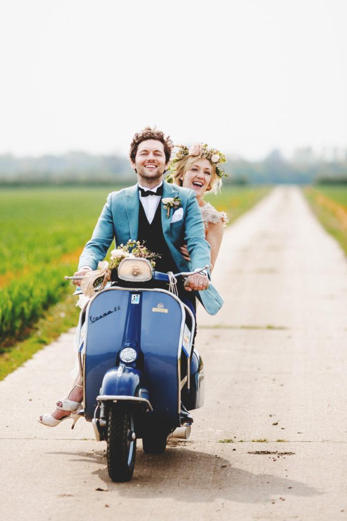 moto para boda