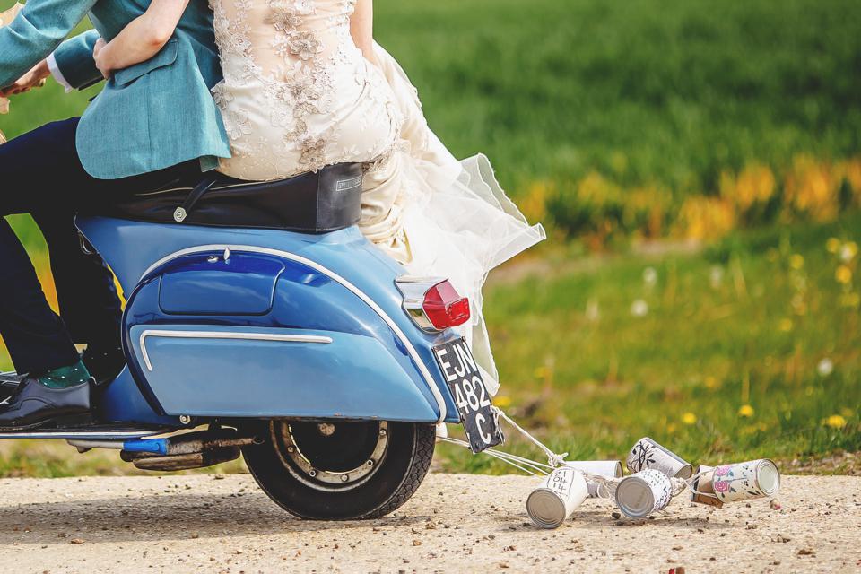 decoracion moto boda