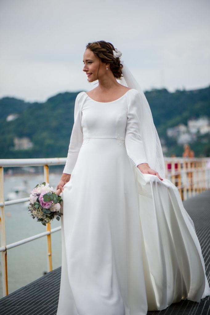 vestido novia boda pepa malaga fotografia