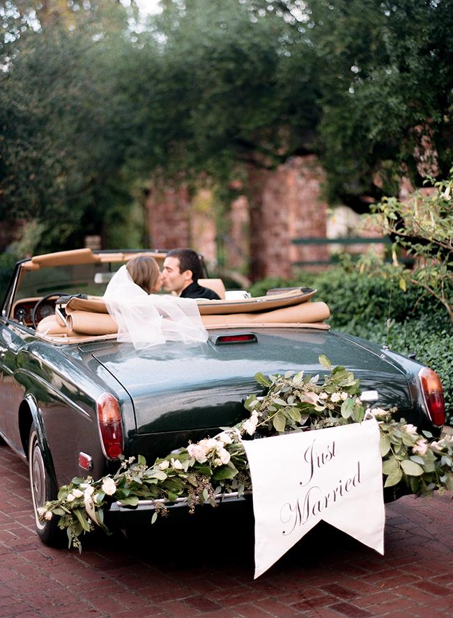 coche clasico boda