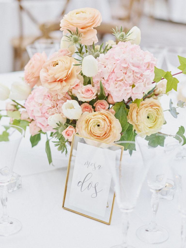 centros florales bodas