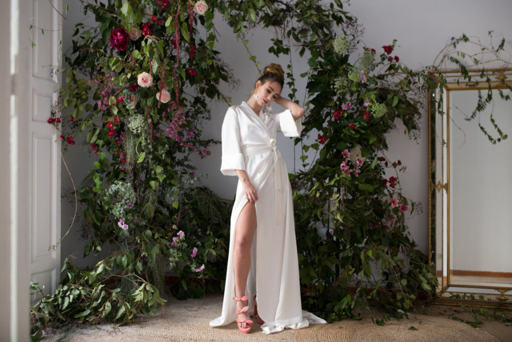 vestido de novia Jorge de la Rosa