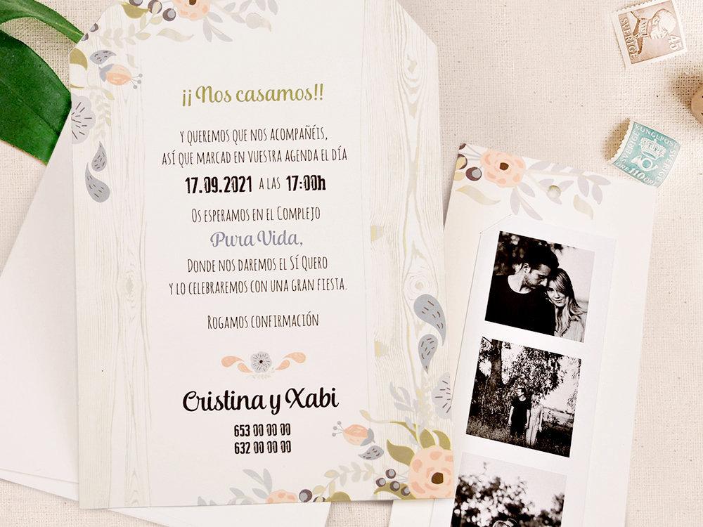 invitaciones de bodas personalizadas