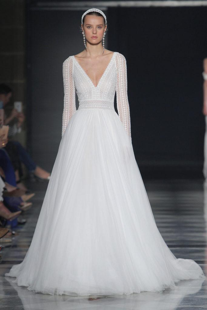 vestidos de novia falda tul