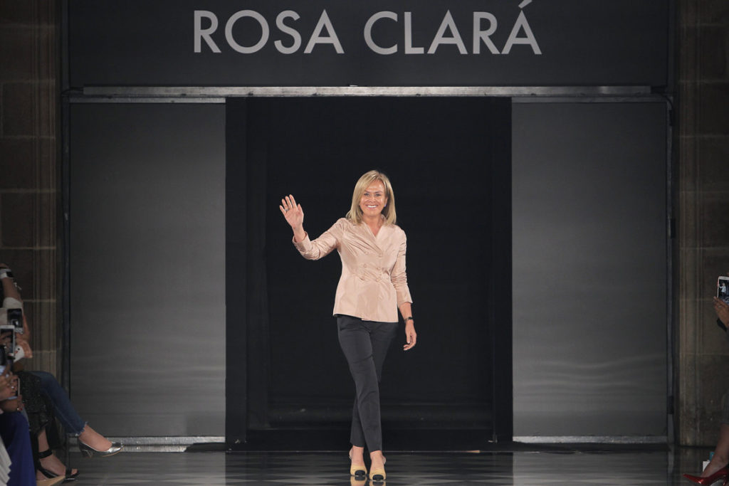desfile Rosa Clará