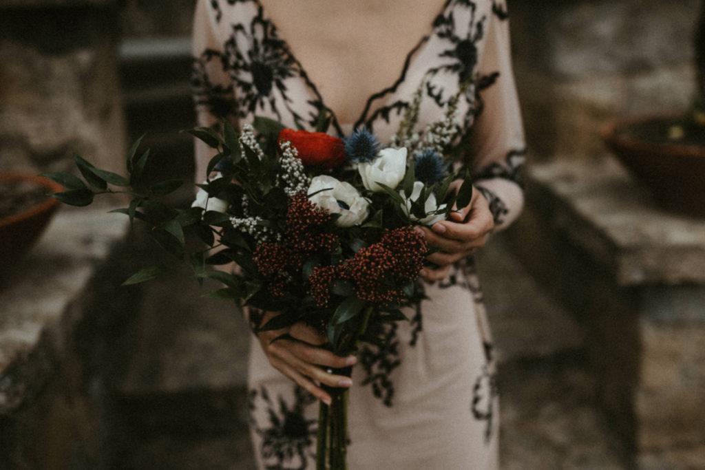 ramo silvestre novia