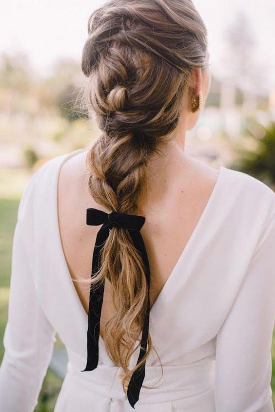 lazos para el pelo novias