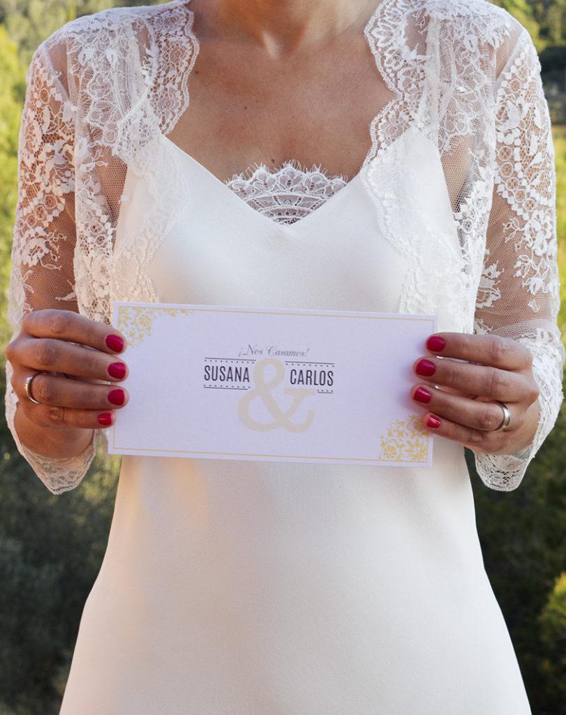 invitaciones de boda tal para cual