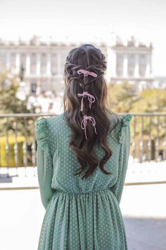 lazos para el pelo invitada