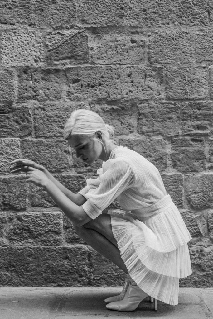 vestidos de novia corto Marta Marti