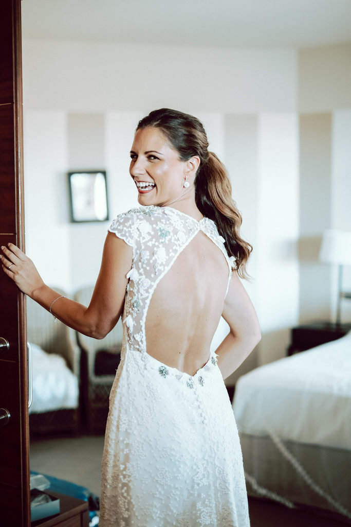 vestido de novia Alicia Rueda Atelier