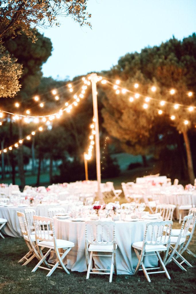 guirnaldas luces boda