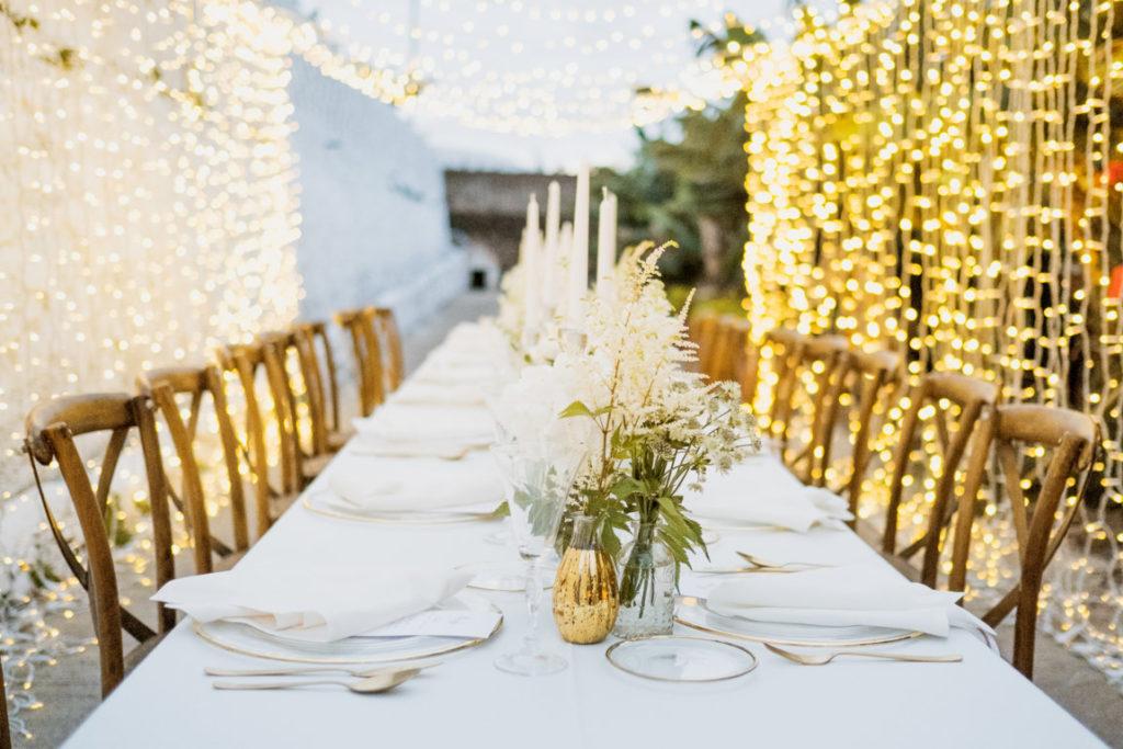 guirnaldas luces bodas