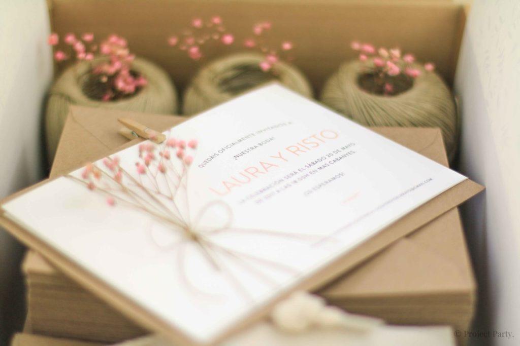invitaciones de boda risto y laura escanes