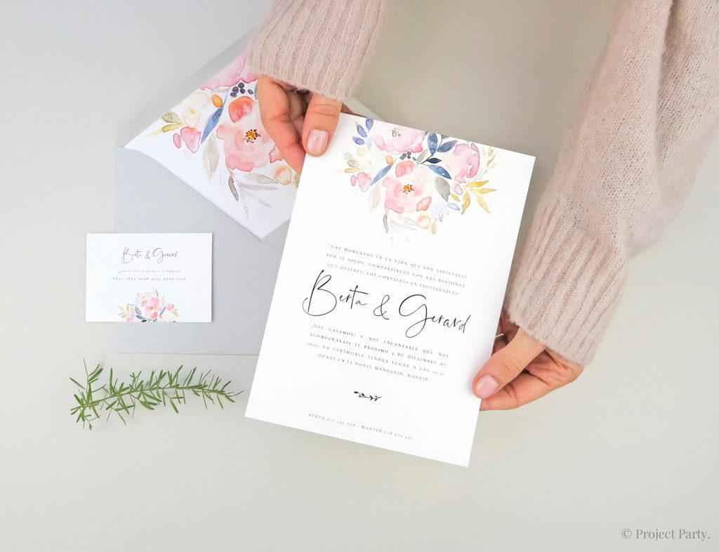 papelería de boda online