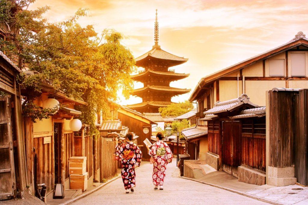 Japón  Bawah luna de miel