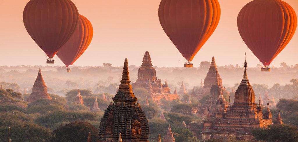 Myanmar Maldivas viaje de novios