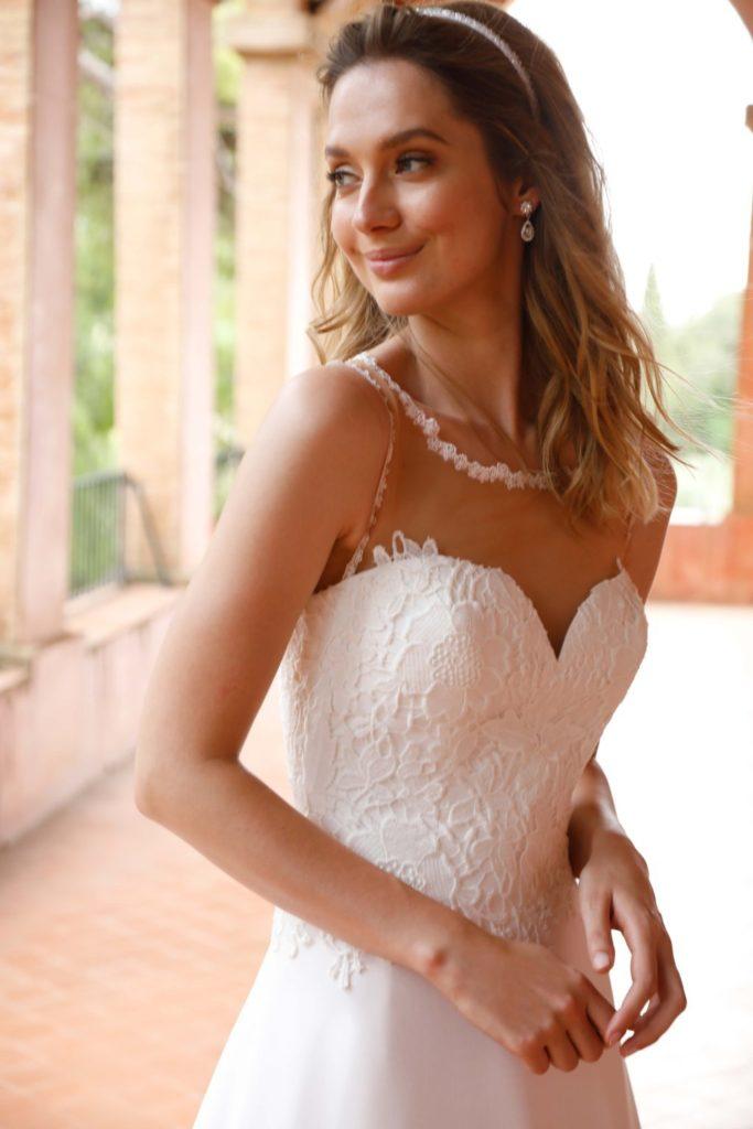 vestidos de novia y ceremonia low cost Venca