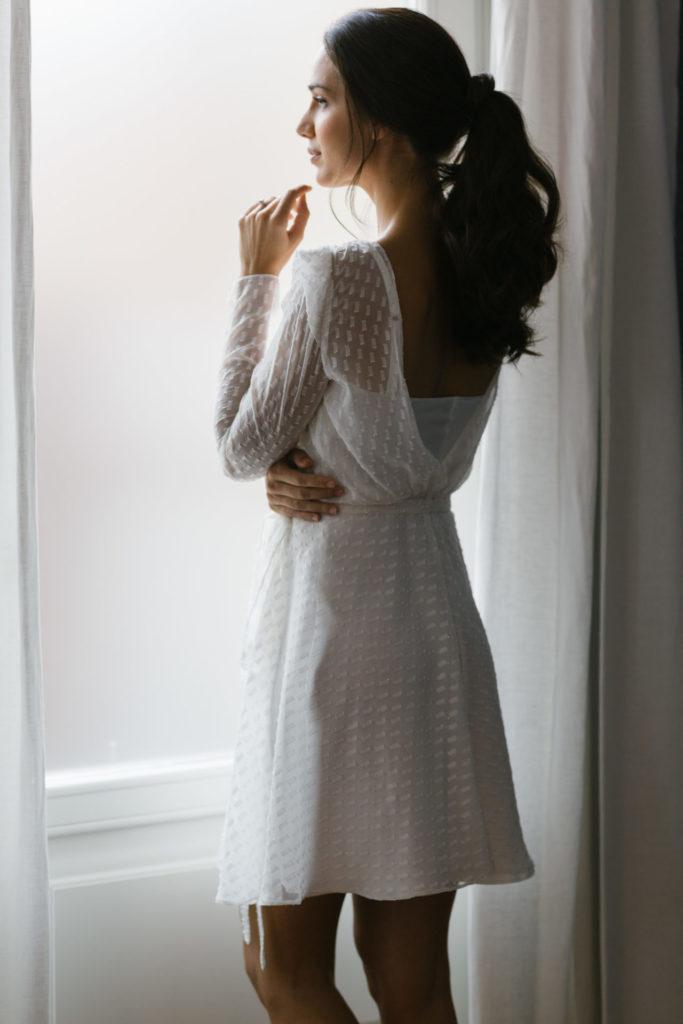 batas bordadas novia