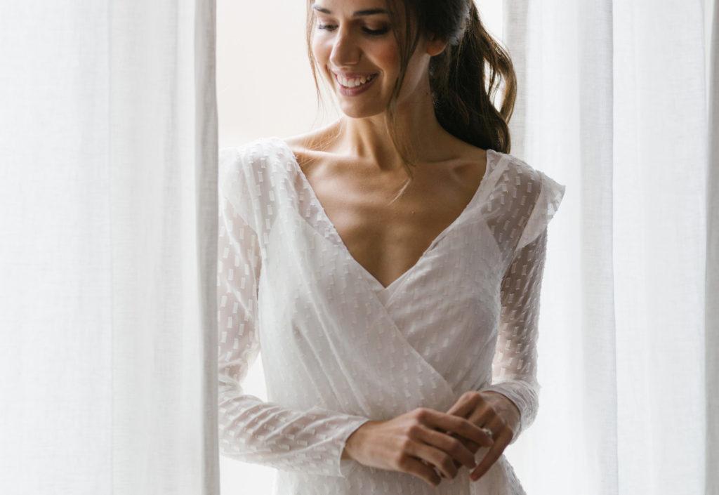bata lenceria novia