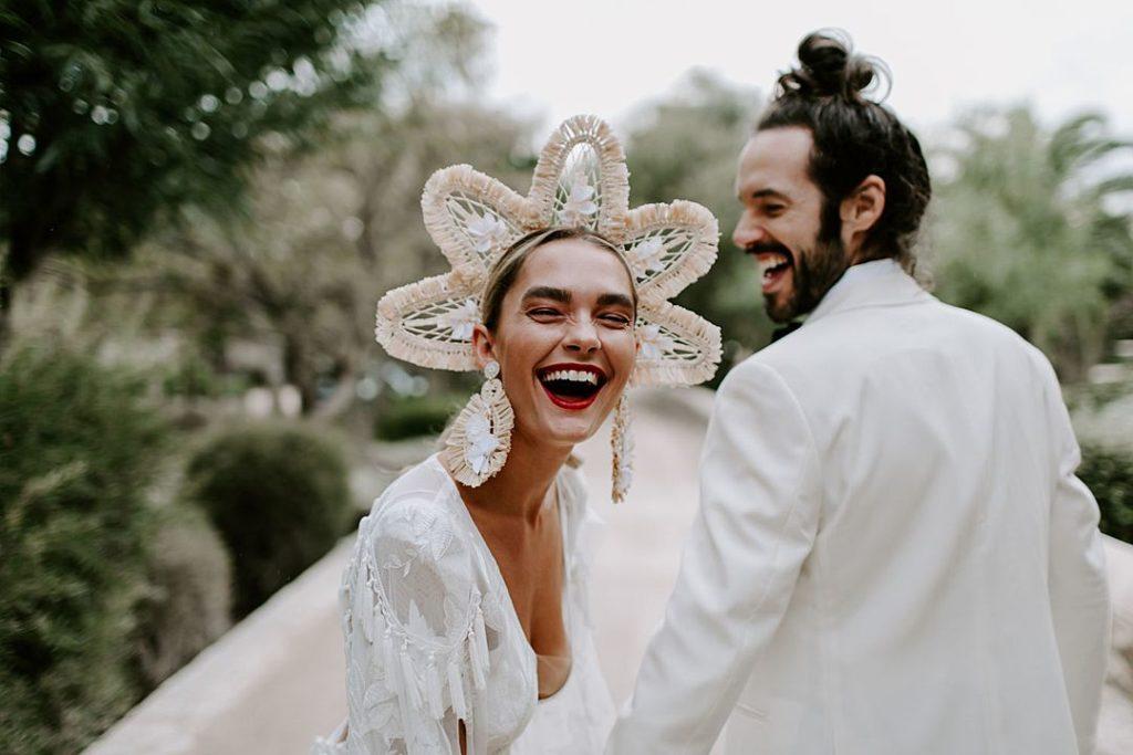 tocado vertical boda