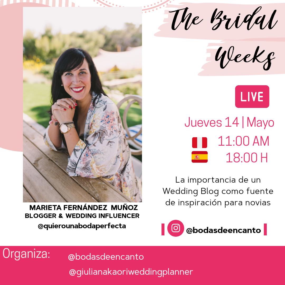 Entrevista Marieta Quiero una boda perfecta