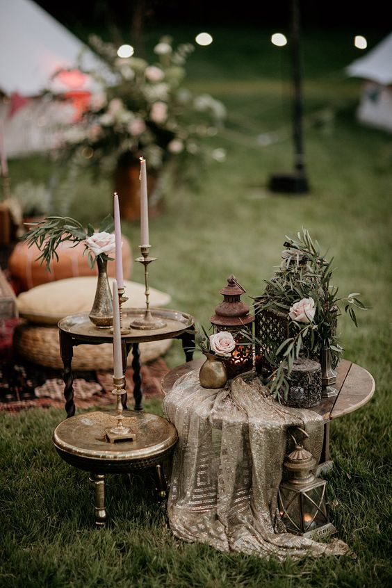 ideas decoracion boda glamping