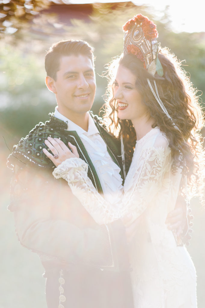 russian spanish wedding Spain