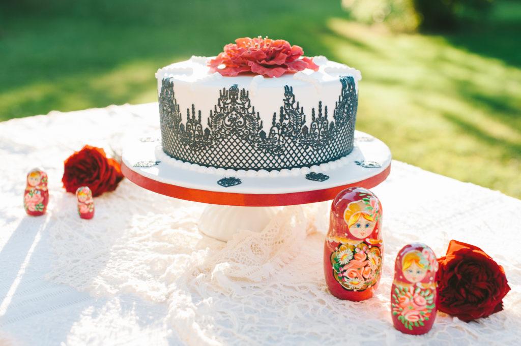 wedding cake russian