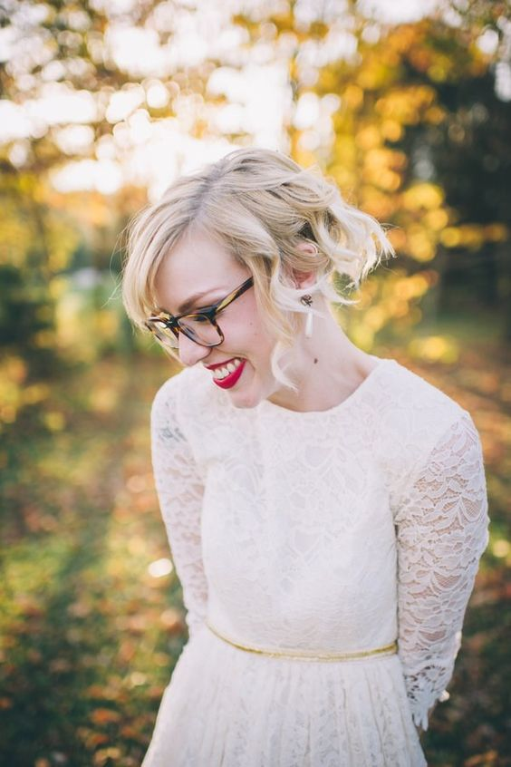 novias con gafas