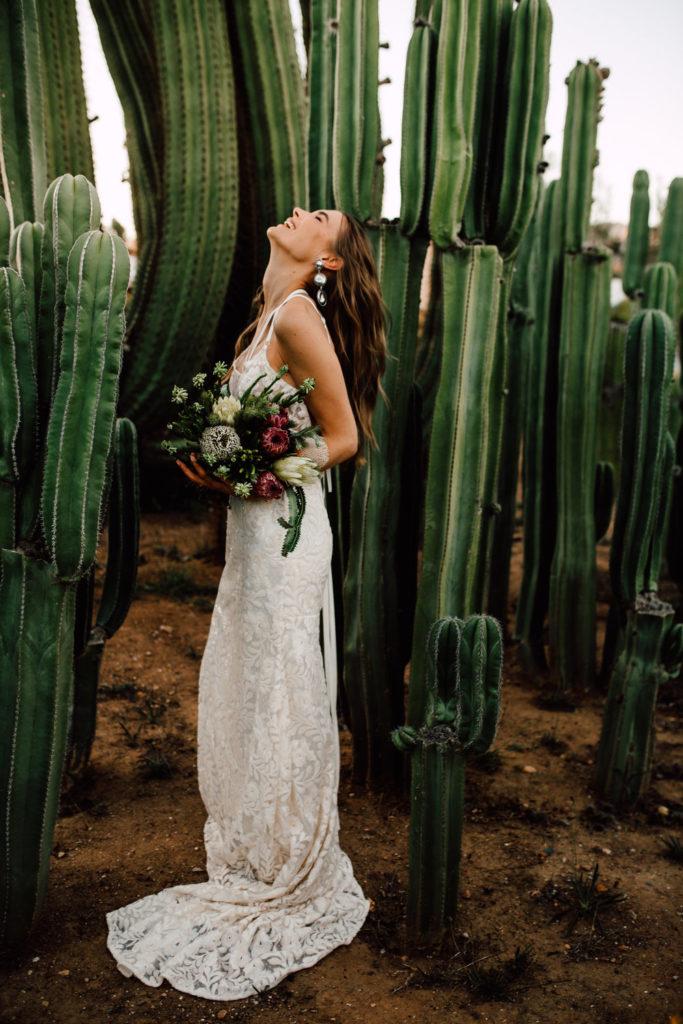 decora tu boda con cactus