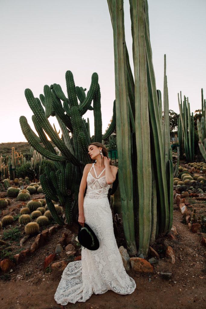 decorar boda cactus